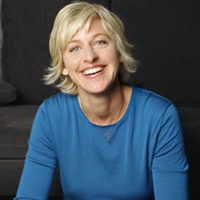 Ellen Degeneres, TV Host, Actress, Producer